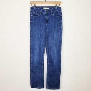 Levi's Mid Rise Skinny Jeans
